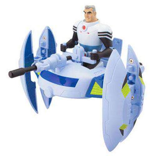 Ben 10 Ultimate Alien Plumber Space Ship Action Figure Vehicle [Damaged Package]