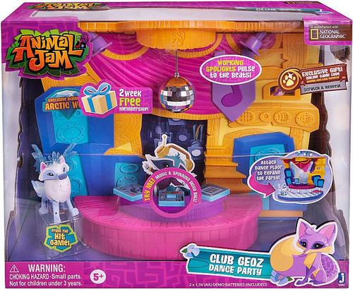 Animal Jam Club Geoz Dance Party Playset [Damaged Package]