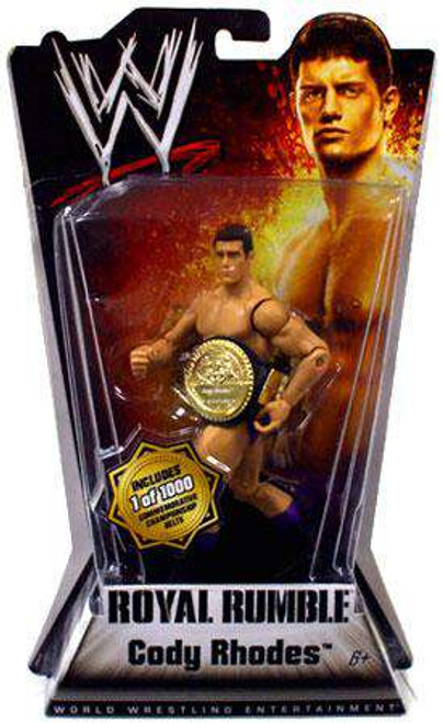 WWE Wrestling Royal Rumble Series 1 Cody Rhodes Action Figure [With Belt, Damaged Package]