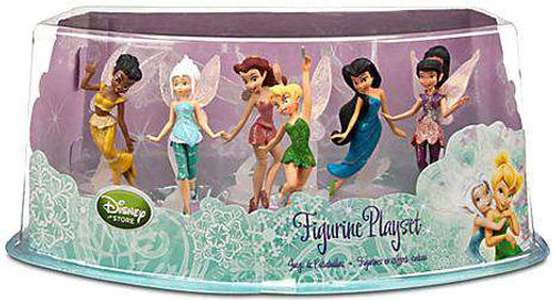 Disney Fairies Secret of the Wings Figurine Playset Exclusive [Damaged Package]