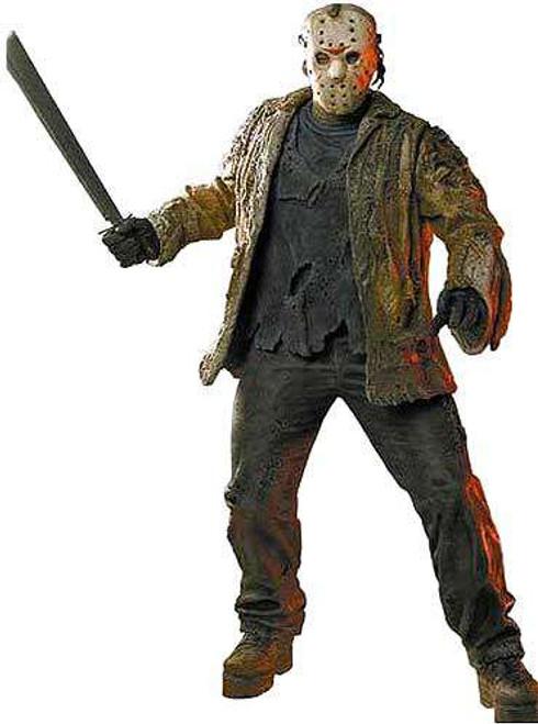 NECA Freddy Vs Jason Cult Classics Jason Voorhees Action Figure [Damaged Package]