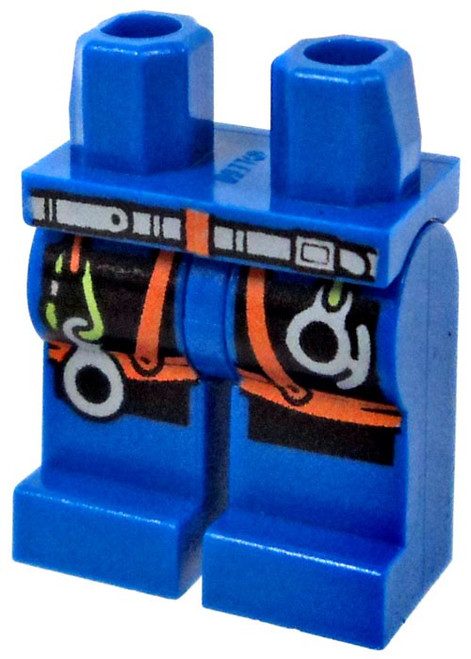 LEGO Blue with Rock Climbing Equipment Loose Legs [Loose]