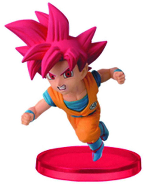 Dragon Ball Super WCF Vol. 2 Super Saiyan God Son Goku 2.5-Inch Collectible Figure