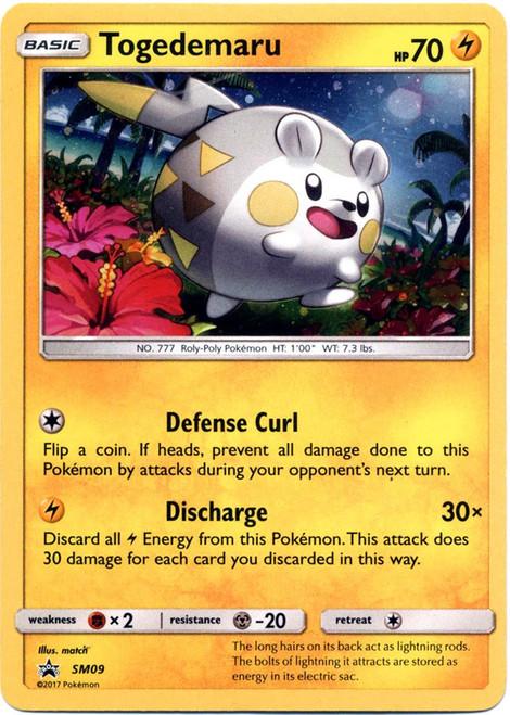 Pokemon Sun & Moon Promo Rare Holo Togedemaru SM09