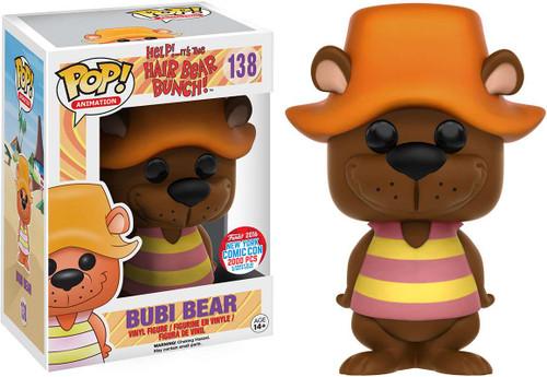 Funko Help! It's the Hair Bear Bunch POP! Animation Bubi Bear Exclusive Vinyl Figure #138