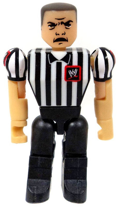 WWE Wrestling C3 Construction StackDown Referee Figure [Loose]