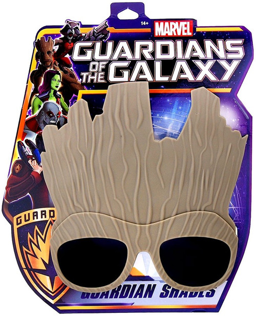 Marvel Guardians of the Galaxy Character Shades Groot Sunglasses