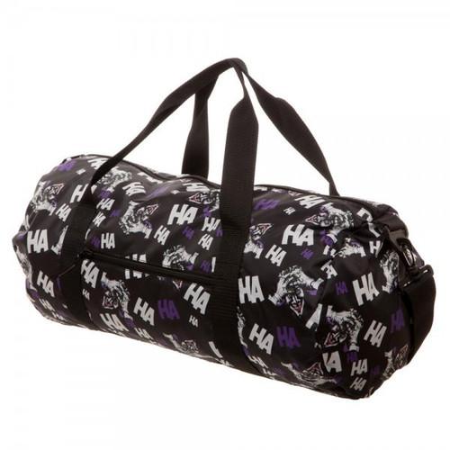 DC Batman Joker Packable Duffle Bag Apparel
