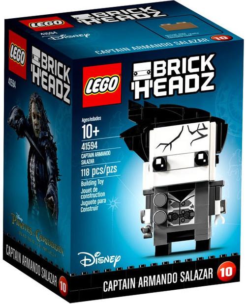 LEGO Pirates of the Caribbean Brick Headz Captain Armando Salazar Set #41594
