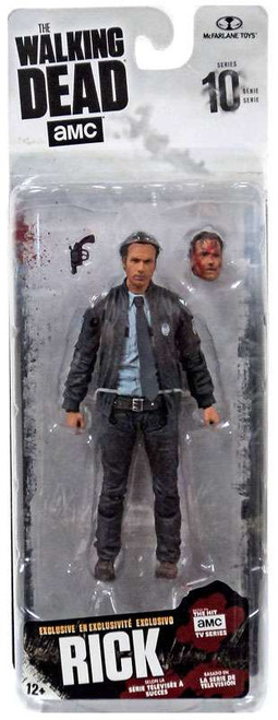 McFarlane Toys The Walking Dead AMC TV Series 10 Rick Grimes Exclusive Action Figure