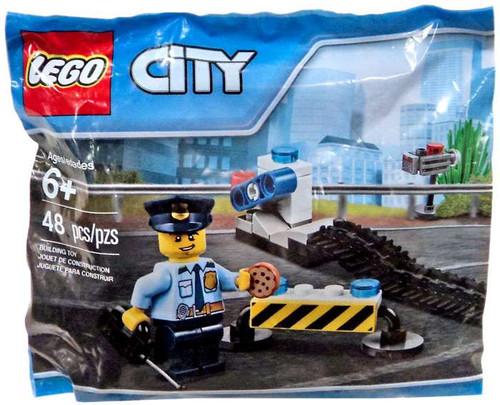 LEGO City Police Road Block Mini Set #6182882 [Bagged]