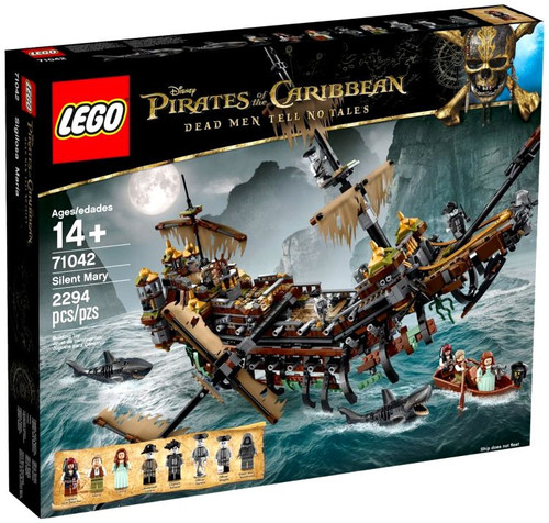 LEGO Pirates of the Caribbean Dead Men Tell No Tales Silent Mary Set #71042