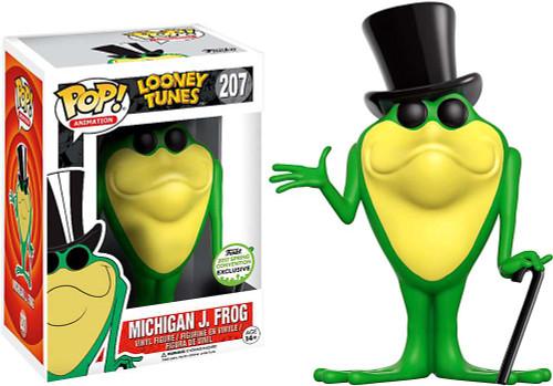 Funko Looney Tunes POP! Animation Michigan J. Frog Exclusive Vinyl Figure #207