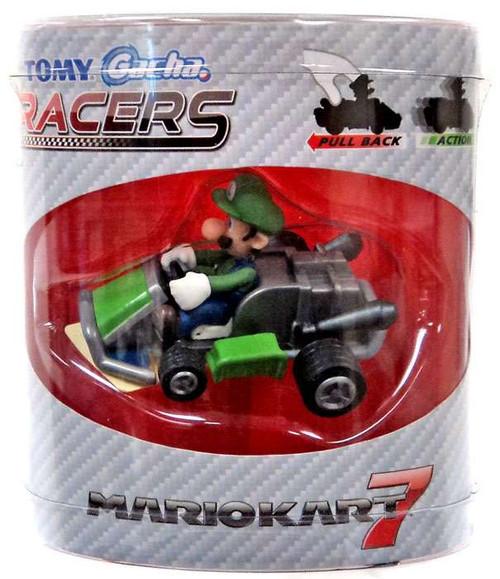 Super Mario Mario Kart Gacha Racers Luigi Pull Back Racer