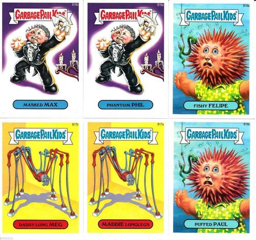 Garbage Pail Kids Topps 2014 Series 2 Trading Card Pack [Rare 6 Card Bonus Set]