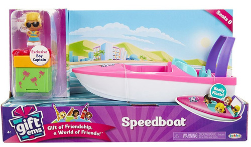Gift 'Ems Speed Boat Vehicle [Exclusive Boy Captain]