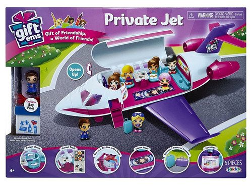 Gift 'Ems Private Jet Vehicle [Exclusive Boy Pilot]