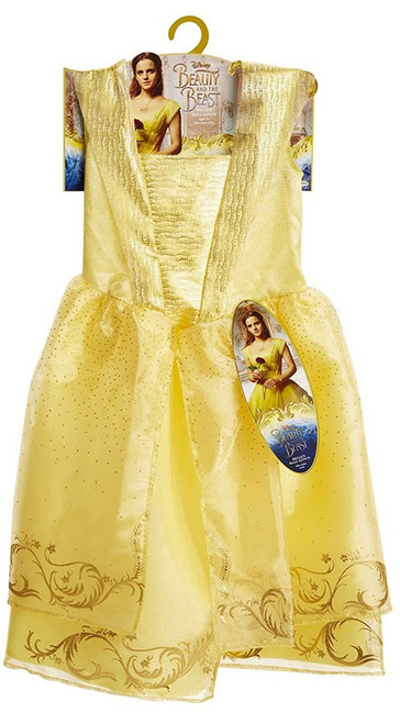 Disney Beauty and the Beast Belle's Ball Gown Costume [Fits sizes 4-6x]