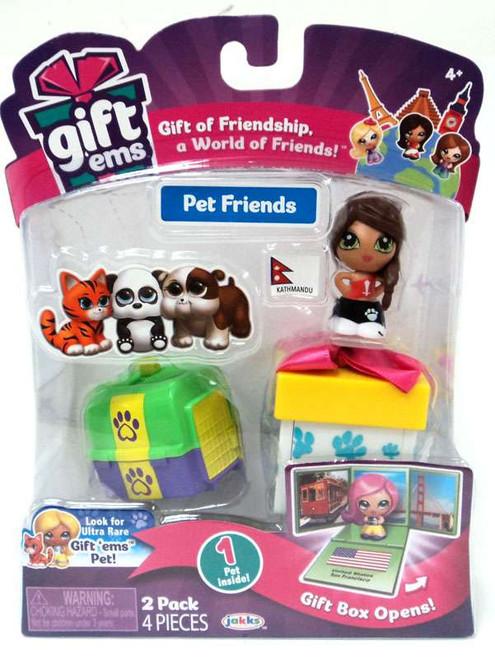 Gift 'Ems Pet Friends Series 1 Kathmandu 2-Pack
