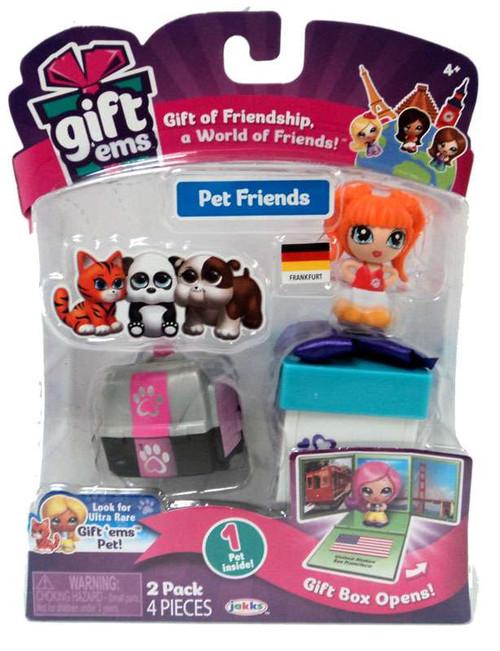 Gift 'Ems Pet Friends Series 1 Frankfurt Mini Figure 2-Pack