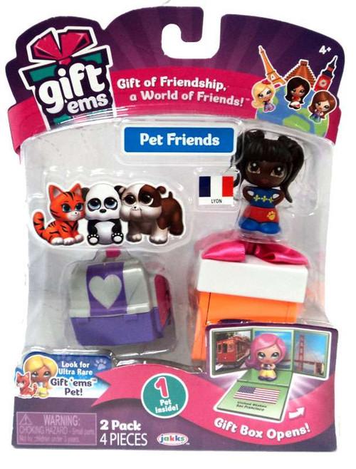 Gift 'Ems Pet Friends Series 1 Lyon 2-Pack