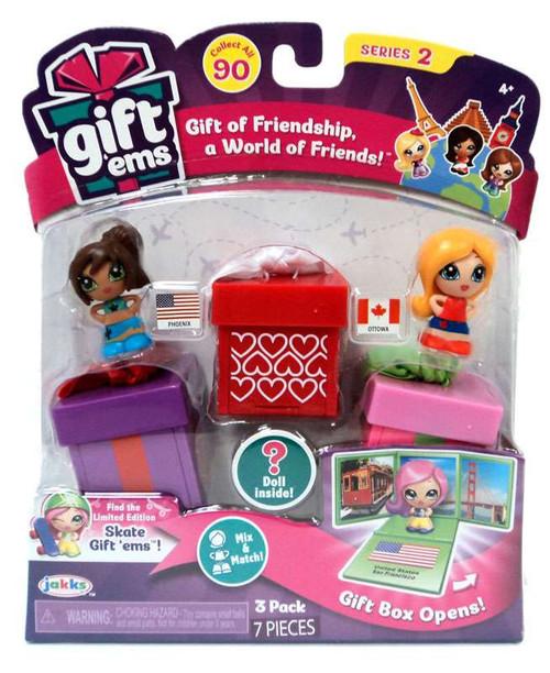 Gift 'Ems Series 2 Phoenix & Ottawa 3-Pack