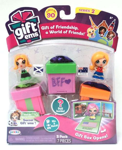 Gift 'Ems Series 2 Edinburgh & Wellington 3-Pack