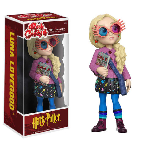 Funko Harry Potter Rock Candy Luna Lovegood Vinyl Figure