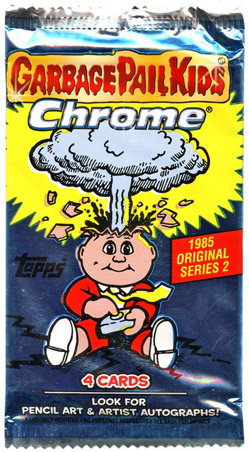 Garbage Pail Kids Topps 2013 Chrome Series 2 Trading Card Pack