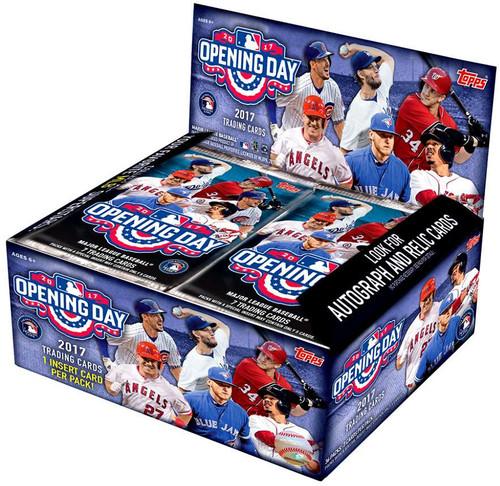 MLB Topps 2017 Opening Day Baseball Trading Card Booster Box [36 Packs]