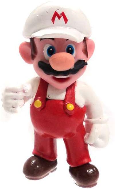 Super Mario Fire Mario 2-Inch PVC Figure [Loose]