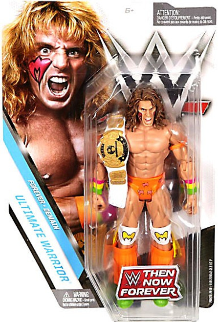 WWE Wrestling Then Now Forever Ultimate Warrior Exclusive Action Figure