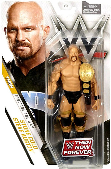 WWE Wrestling Then Now Forever Stone Cold Steve Austin Exclusive Action Figure