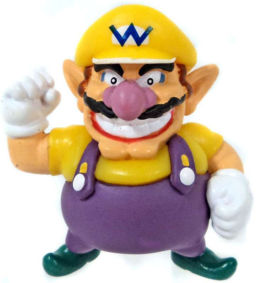 Super Mario Wario 2-Inch Mini Figure [Loose]