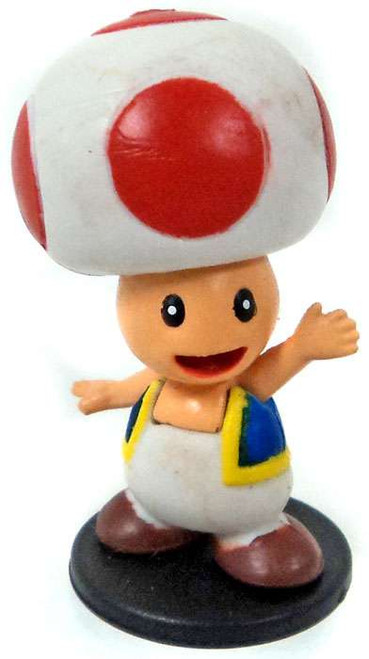 Super Mario Toad 2-Inch Mini Figure [Loose]