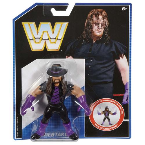 WWE Wrestling Retro Undertaker Action Figure