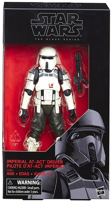 Star Wars Black Series Imperial AT-ACT Driver Exclusive Action Figure