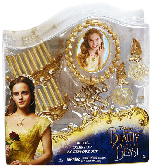 Disney Princess Beauty and the Beast Belle's Dress-Up Accessory Set [Damaged Package]