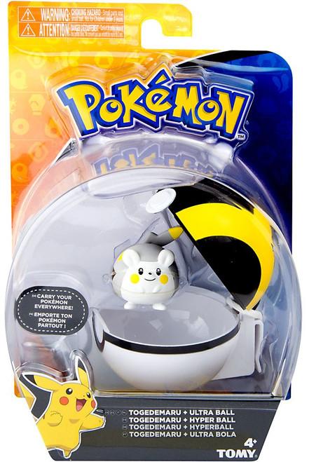Pokemon Clip n Carry Pokeball Togedemaru & Ultra Ball Figure Set