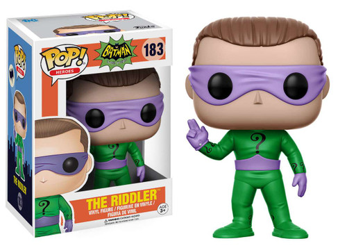 Funko DC Batman 1966 TV Series POP! Heroes The Riddler Vinyl Figure #183 [Wearing Mask, Regular Version]