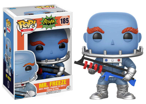Funko DC Batman 1966 TV Series POP! Heroes Mr. Freeze Vinyl Figure #185