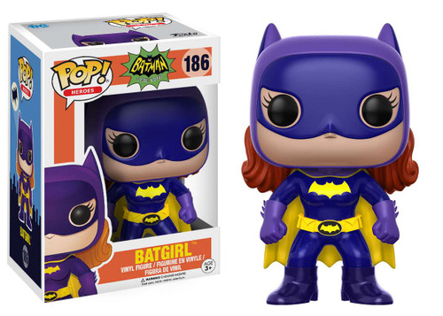 Funko DC Batman 1966 TV Series POP! Heroes Batgirl Vinyl Figure #186 [Batman 1966 TV Series]