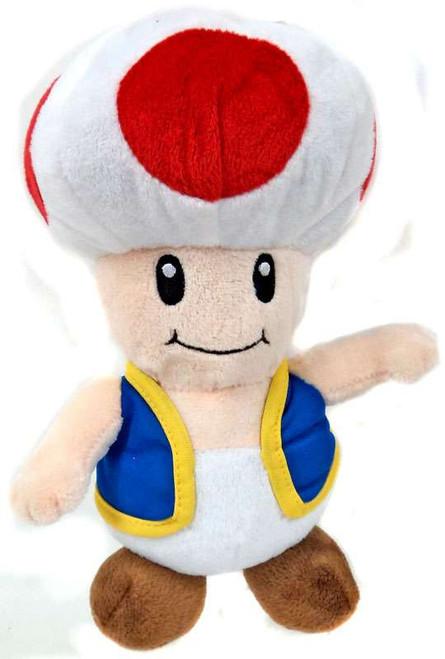 Super Mario Toad 9-Inch Plush
