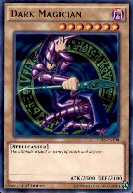 YuGiOh Duelist Saga Ultra Rare Dark Magician DUSA-EN100