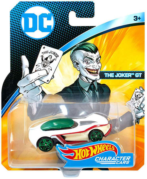 Hot Wheels DC Character Cars The Joker GT Die-Cast Car