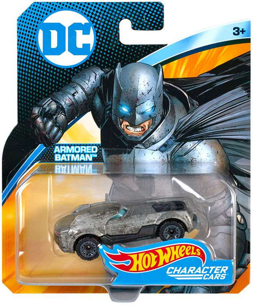 Hot Wheels DC Character Cars Armored Batman Diecast Car