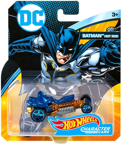 Hot Wheels DC Character Cars Batman Hot Rod Die-Cast Car