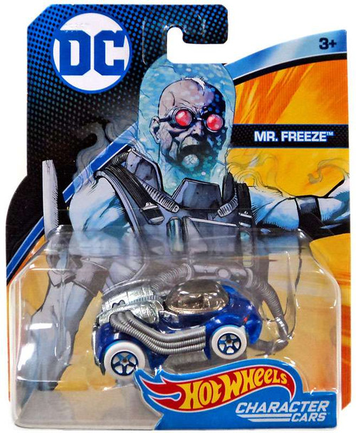 Hot Wheels DC Character Cars Mr. Freeze Die-Cast Car