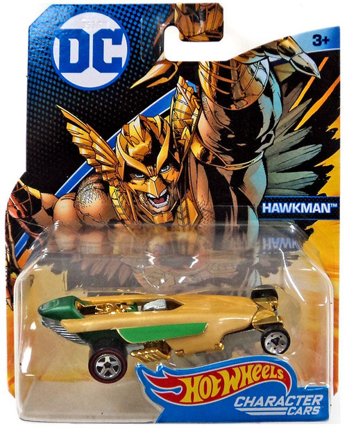 Hot Wheels DC Character Cars Hawkman Diecast Car