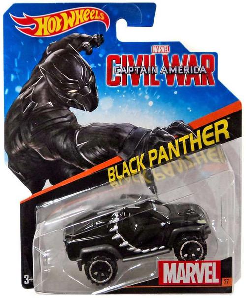 Hot Wheels Marvel Captain America Civil War Black Panther Die-Cast Car